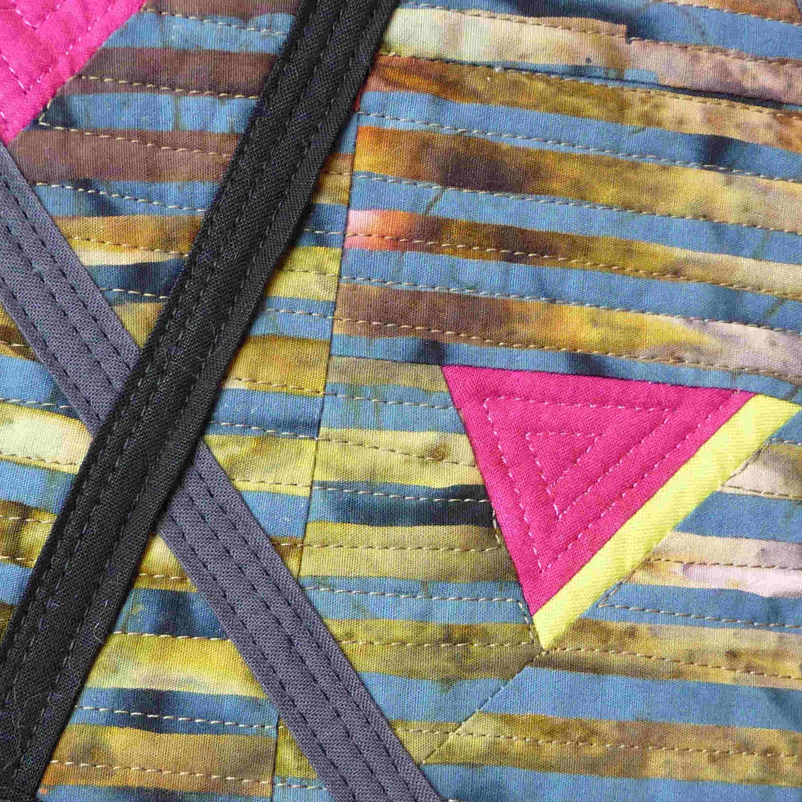 Toni Furst Smith Conscious Quilts Grid (Detail)