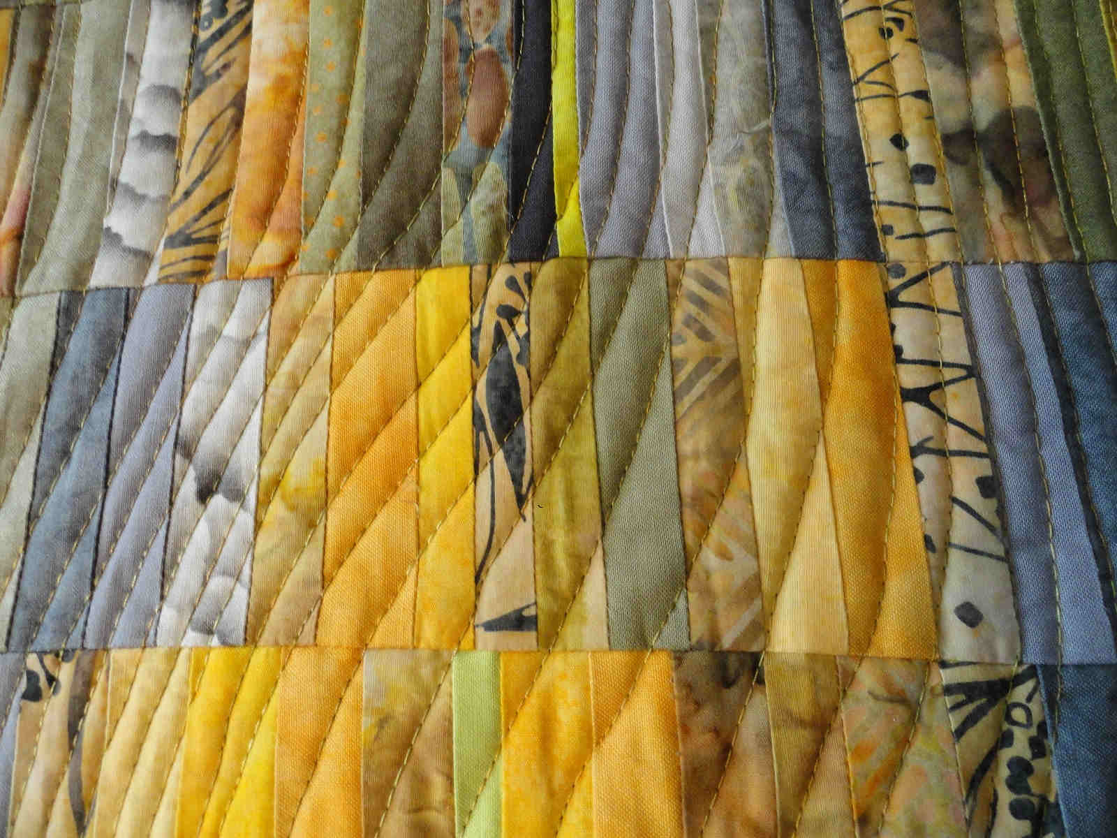 Toni Furst Smith Conscious Quilts Portal (Detail)