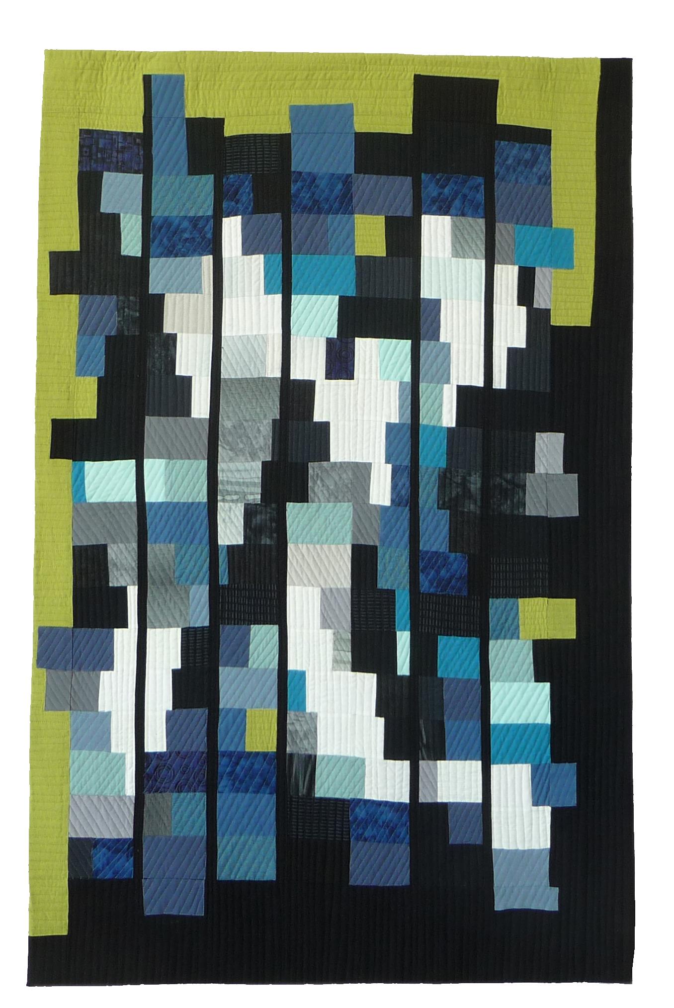 Toni Furst Smith Conscious Quilts Blue