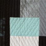 Toni Furst Smith Conscious Quilts Blue (Detail)