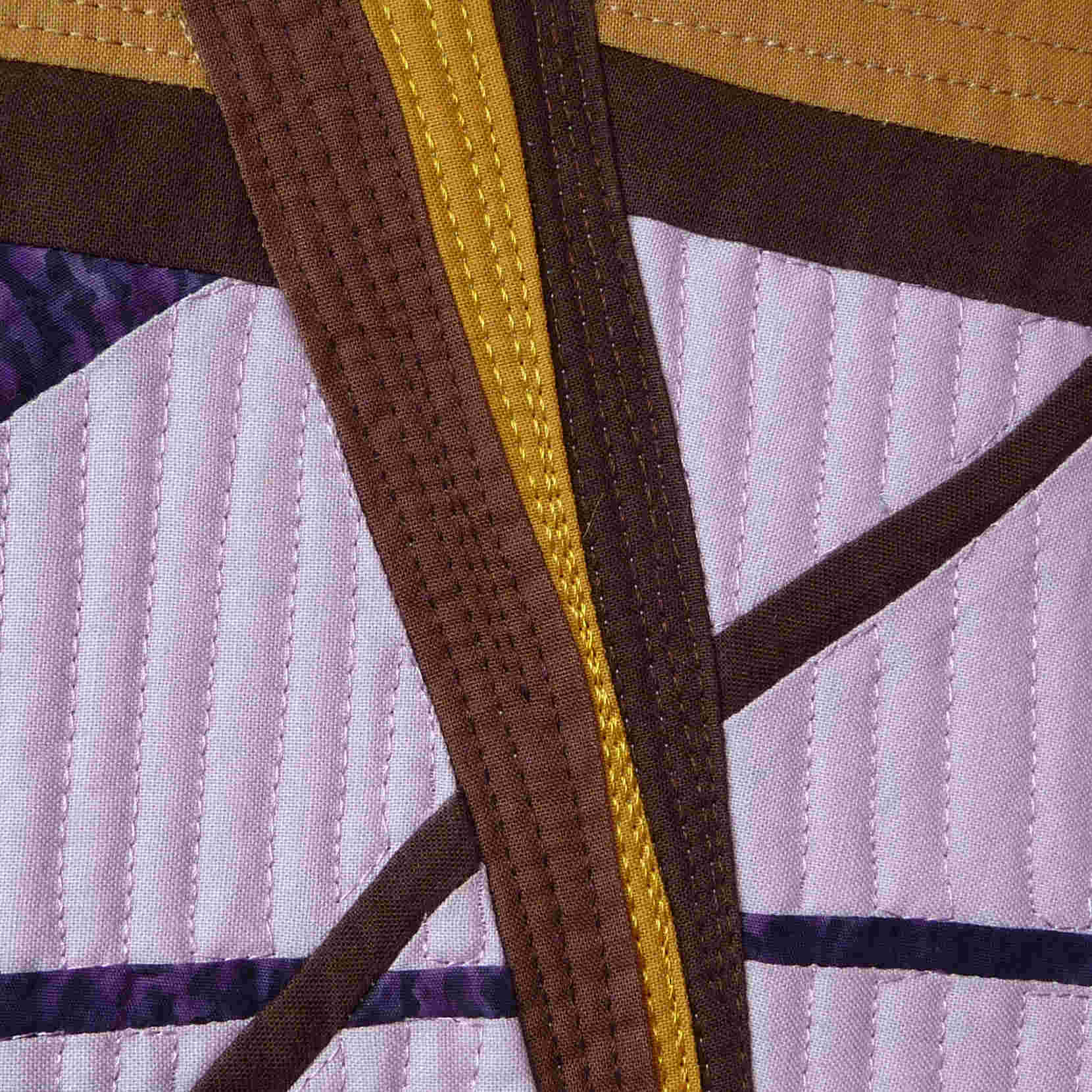 Toni Furst Smith Conscious Quilts Window (Detail)