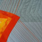 Toni Furst Smith Conscious Quilts Heat Wave NYC (Detail)
